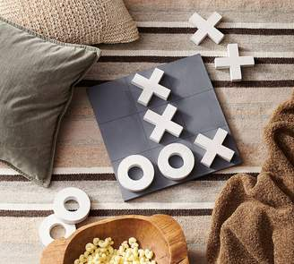 Pottery Barn Oversized Faux Stone Tic Tac Toe Game