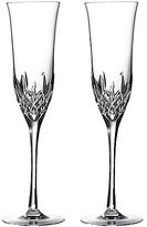 Waterford Crystal Lismore 60th Anniversary Collection Lismore Essence Flute Pair