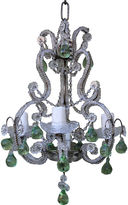 One Kings Lane Vintage French Crystal Beaded Chandelier