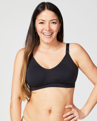 Cake Maternity - Women's Black Maternity Bras - Rock Candy Seamless Maternity Bra - Size One Size, S at The Iconic