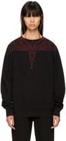 Marcelo Burlon County of Milan Black Mawida Sweatshirt