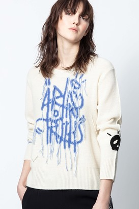 Zadig & Voltaire Chunky Art Sweater