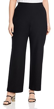 Eileen Fisher, Plus Size Straight-Leg Pants
