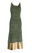 J.W.Anderson Long Tank Dress With Foil