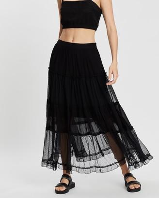 AllSaints Renia Skirt