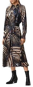 AllSaints Carolina Unison Devore Maxi Dress