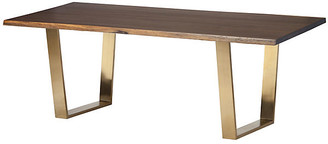 One Kings Lane Toulouse Dining Table - Oak/Gold - 78""
