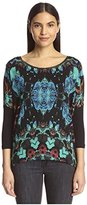 Custo Barcelona Women's 3390018 Print Front Top