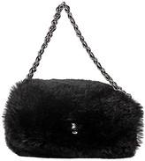 One Kings Lane Vintage Chanel Black Mini Lapin Evening Bag - Vintage Lux