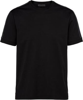 Prada knit inserts T-shirt