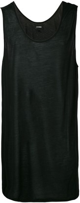 Les Hommes oversized tank top