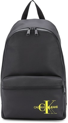 Calvin Klein Jeans Logo Print Backpack