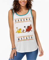 Hybrid Juniors' Hakuna Matata Graphic-Print Tank Top