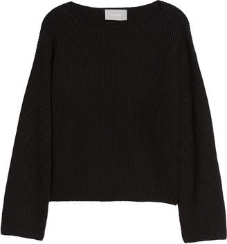 Everlane The Cashmere Rib Boatneck Sweater