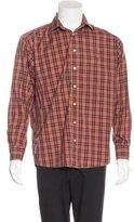 Burberry Plaid Woven Shirt