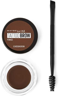 Maybelline Tattoo Brow Longlasting Eyebrow Pomade Medium Brown
