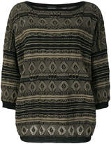 Roberto Collina patterned jumper