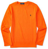 Ralph Lauren Boys 8-20 Waffle Knit Thermal Tee