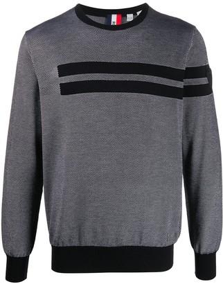 Rossignol Knitted Striped Pattern Sweatshirt