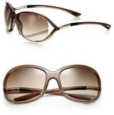 Tom Ford Jennifer 61MM Round Sunglasses