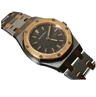 Audemars Piguet Royal Oak Lady Silver gold and steel Watches