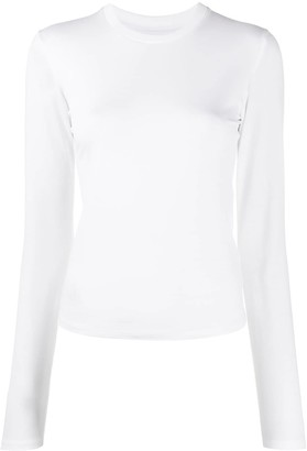 Styland Crew Neck Jersey Knit Top