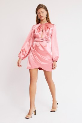 Finders Keepers LUCINDA MINI DRESS Spiced Pink