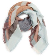 David & Young Women's Geo Square Scarf