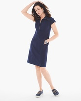 Chico's Neema Half-Zip Dress