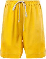 Rick Owens drawstring fastening shorts - women - Silk/Acetate - 38