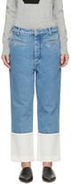 Loewe Indigo Stonewashed Fisherman Jeans