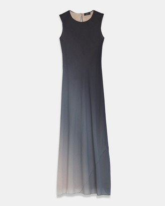 Theory Bias Dress in Ombre Silk