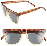 Komono Women's 'Bennet' Sunglasses - Tortoise/ Ivory/ Solid Brown