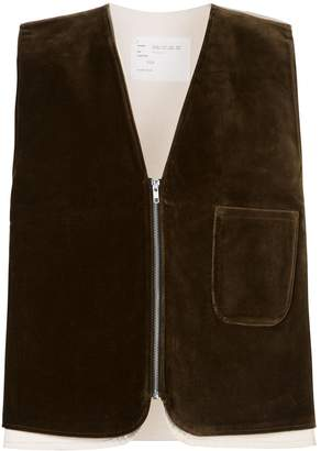 Camiel Fortgens zipped layered vest