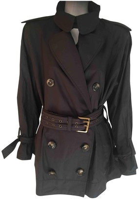 Sonia Rykiel Black Trench Coat for Women