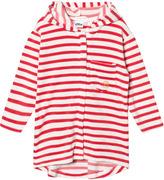 eBBe Kids Pink and White Stripe Aruba Bath Robe