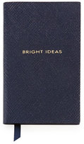 "Smythson Bright Ideas"" Wafer Notebook, Navy"