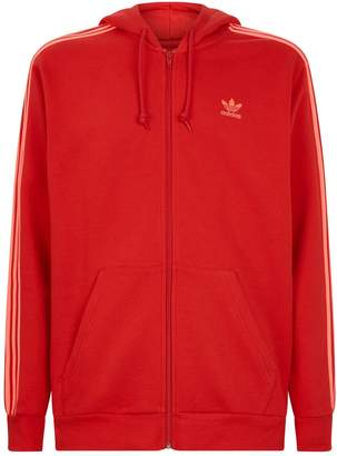 adidas 3-Stripes Zip-Up Hoodie