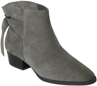Aerosoles Low Heel Leathe Ankle Boots - Crosswalk