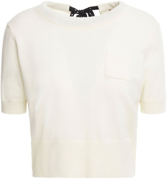 Altuzarra Cropped Wool And Cashmere-blend Top