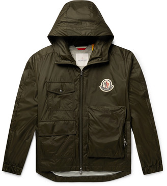MONCLER GENIUS 2 Moncler 1952 Bouyer Logo-Appliqued Shell Hooded Jacket
