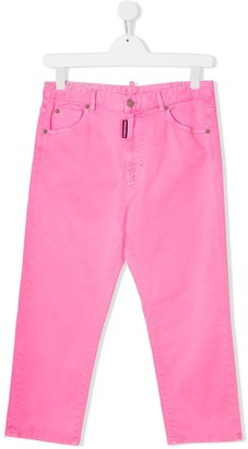 DSQUARED2 TEEN regular-fit jeans