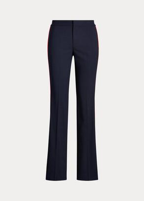 Ralph Lauren Side-Stripe Wool-Blend Pant
