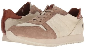 Frye Ludlow Runner (White Canvas) Men's Lace up casual Shoes