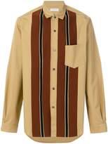 TOMORROWLAND Tricot striped detail shirt