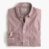 J.Crew Slim Secret Wash shirt in red stripe