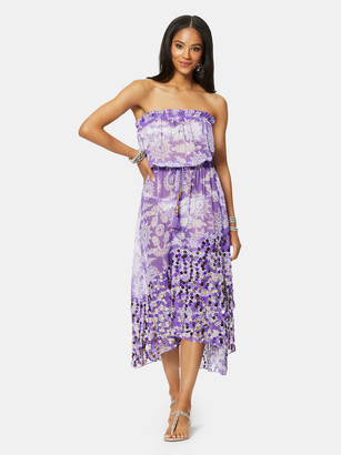 Ramy Brook Cianna Strapless Cover Up Dress