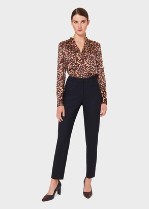 Hobbs Petite Laurel Wool Blend Tapered trousers With Stretch
