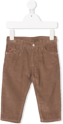 Knot Five Pockets Corduroy Trousers