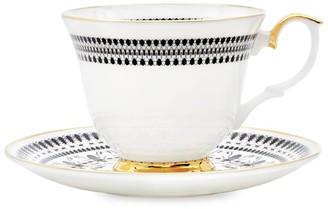The Curious Department Insect Mandala Tea Cup & Saucer